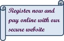 Register Now and Pay Online