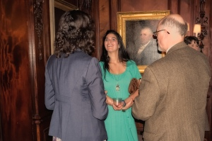 Sarah-Jane Poindexter, Sara Price and Jim Holmberg at KATH reception 2012