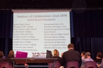 List of Affiliations of 37 years of KATH Board Presidents at Plenary Session, KATH Conference, September 15, 2012