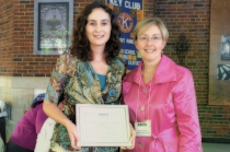 Elizabeth Schaller and Dr. Melissa McEuen