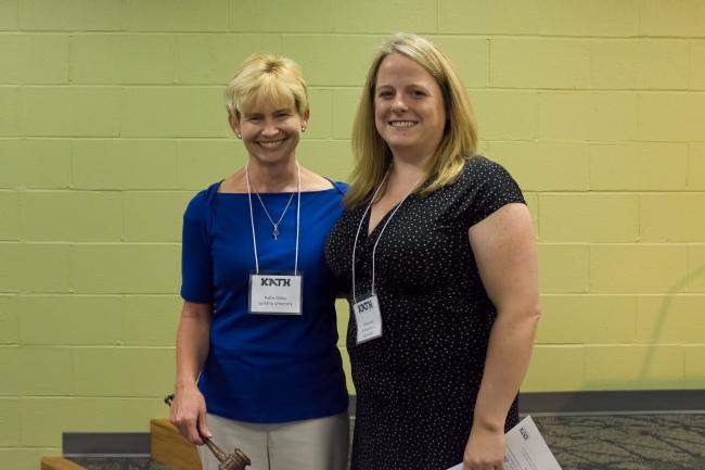 Pattie Dillon (left) and Allison Hunt (right)