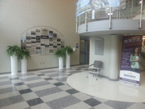 AT building foyer