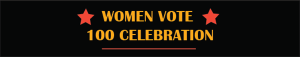 women vote - 100 celebration